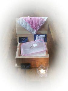 dag kleine ster box roze