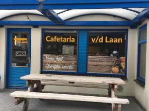 logo cafetaria van der Laan