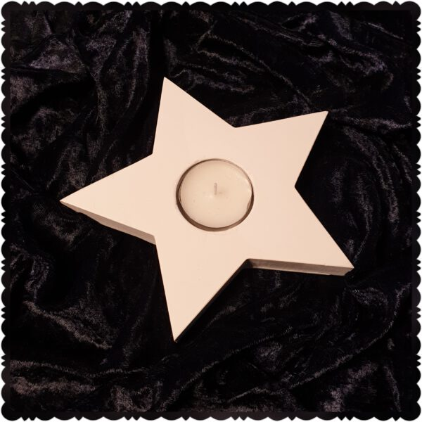 waxinelichthouder ster