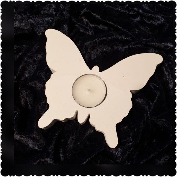 waxinelichthouder vlinder
